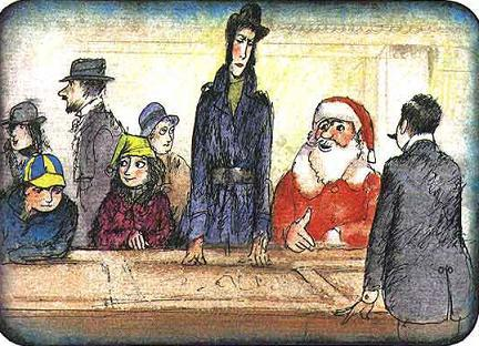 Мэри Поппинс Джейн и Майкл выбирают подарки к рождеству