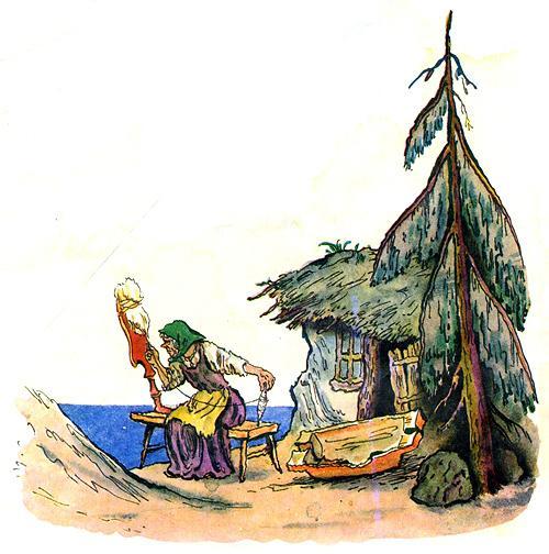 картинку из рассказа рыбка и рыбак