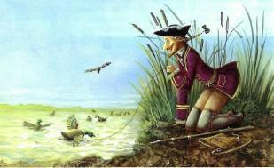 барон мюнхгаузен ловил уток