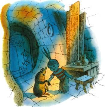 Чиполлино и крот в тюрьме