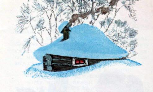 пришла лютая зима затрещал мороз