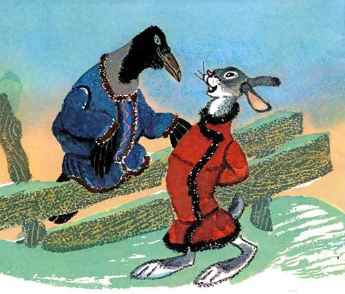 иллюстрации к сказке заяц хвастун картинки