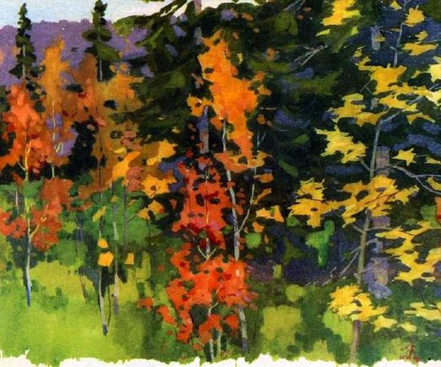Картинки зимы к расказу четыре художника