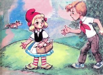 красная шапочка и петя картинки