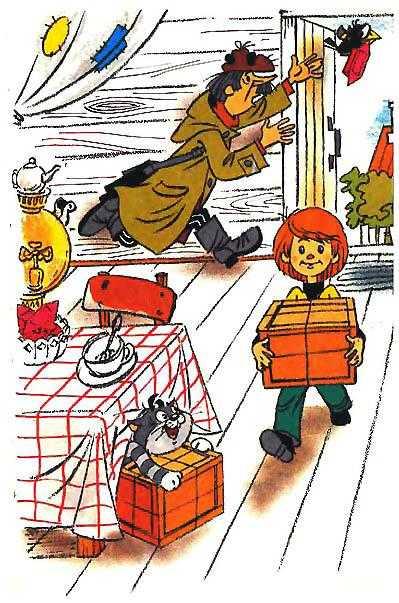 Дядя Фёдор получил посылку обхитрили почтальона Печкина и забрали...