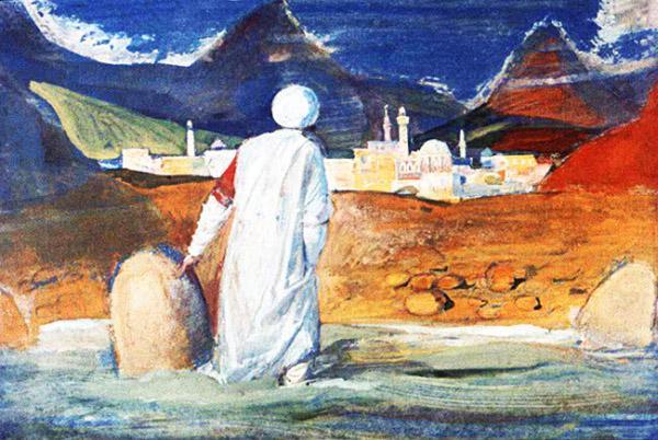 Синдбад-мореход у берега неведомой земли