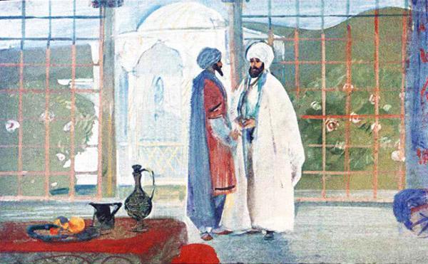 Мансур и Синдбад-мореход