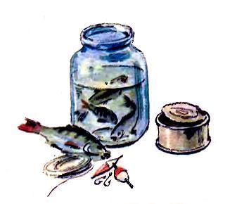 банка с рыбой